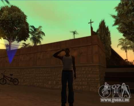 Salut pour GTA San Andreas troisième écran
