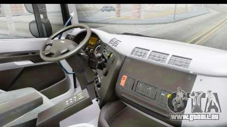 Tatra Phoenix 6x2 Agro Truck v1.0 pour GTA San Andreas vue intérieure