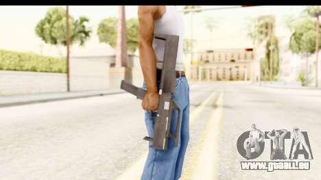 FMG-9 pour GTA San Andreas troisième écran