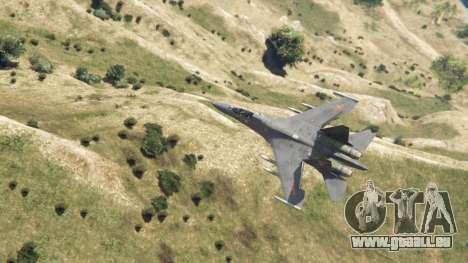 GTA 5 Su-30МКК HQ Chinesisch vierten Screenshot