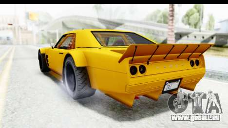 GTA 5 Declasse Drift Tampa pour GTA San Andreas laissé vue