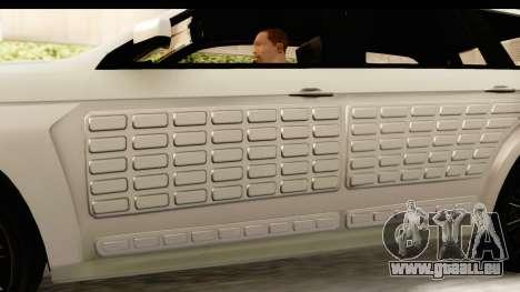 GTA 5 Benefactor XLS IVF pour GTA San Andreas vue de côté