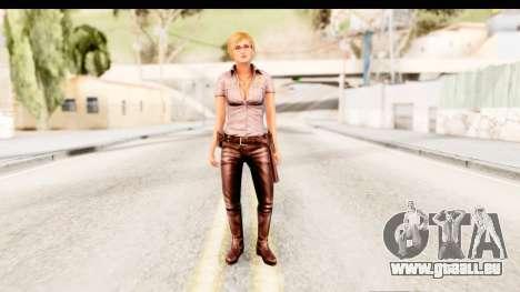 Silent Hill Shattered Memories - Cybil für GTA San Andreas zweiten Screenshot