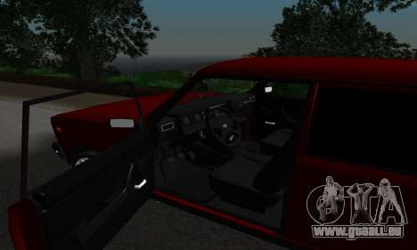 2107 für GTA San Andreas Rückansicht