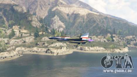 GTA 5 J-10A SY Aerobatic Team sechster Screenshot