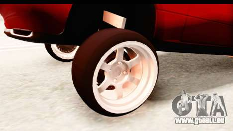 Mazda Miata with Crazy Camber pour GTA San Andreas vue arrière