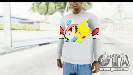 Sweat Pokemon Go Pikachu pour GTA San Andreas
