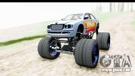 GTA 5 Enus Cognoscenti XL pour GTA San Andreas vue de droite