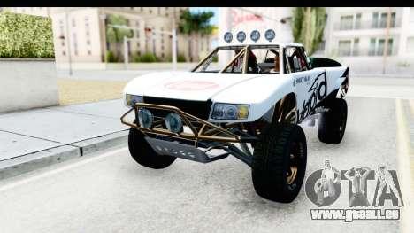 GTA 5 Trophy Truck SA Lights PJ für GTA San Andreas Unteransicht