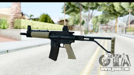 LR-300 Tan pour GTA San Andreas deuxième écran