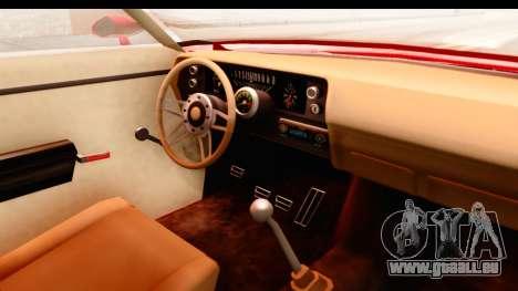 Ford Torino für GTA San Andreas Innenansicht