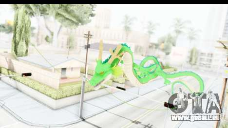 Shenron from Dragon Ball Xenoverse für GTA San Andreas dritten Screenshot