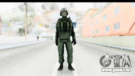 Global Warfare Russia pour GTA San Andreas deuxième écran