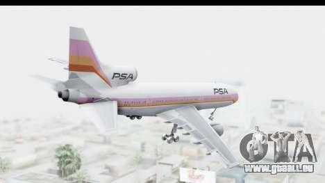 Lockheed L-1011-100 TriStar Pacific Southwest für GTA San Andreas rechten Ansicht