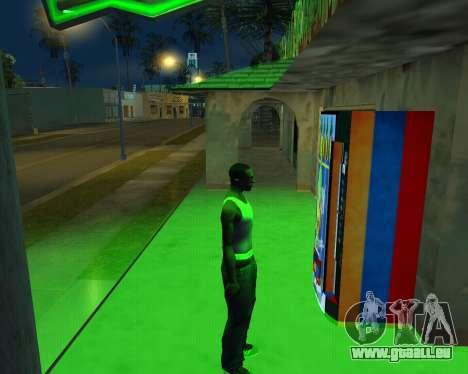 Neue automatische Heu-Cola und armenische Flagge für GTA San Andreas her Screenshot