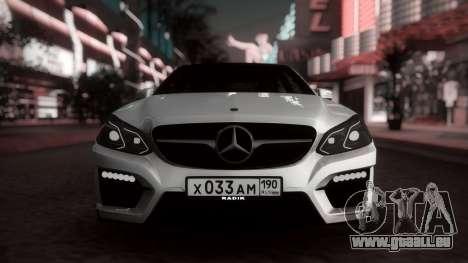 Mercedes-Benz E63 GSC für GTA San Andreas linke Ansicht