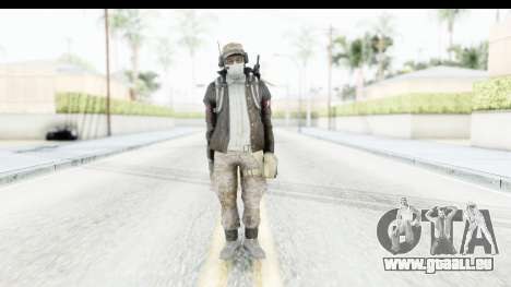 The Division Last Man Battalion - Engineer für GTA San Andreas zweiten Screenshot