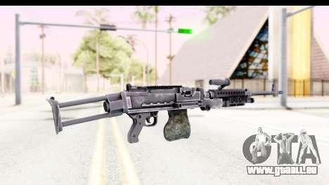 M240 FSK No Attachments pour GTA San Andreas deuxième écran