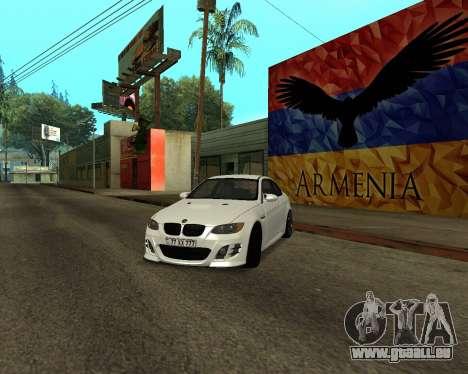 BMW M3 Armenian für GTA San Andreas