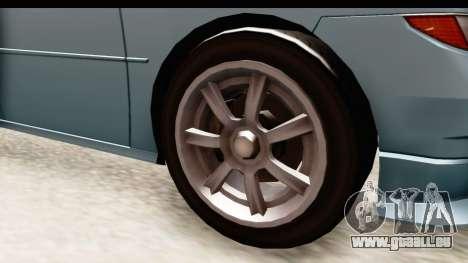 GTA 5 (4) Dinka Perennial IVF für GTA San Andreas Rückansicht