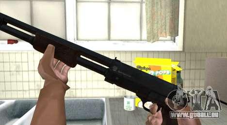 TOZ-194 von Aufständen für GTA San Andreas dritten Screenshot
