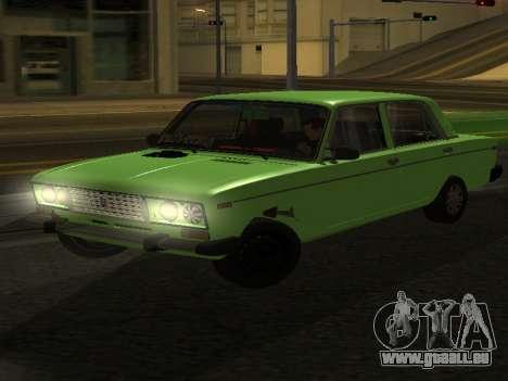 VAZ 2106 pour GVR pour GTA San Andreas
