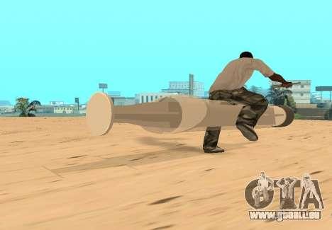 Spritze für GTA San Andreas Rückansicht