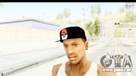 Cap Pokemon Pokeball pour GTA San Andreas deuxième écran