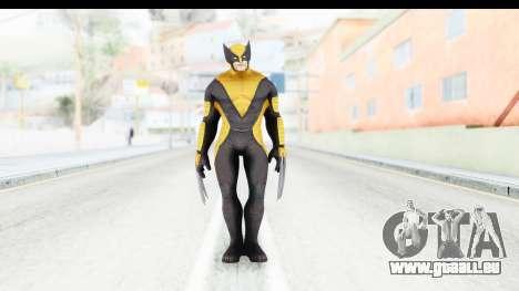 Marvel Heroes - Wolverine All New Marvel Now pour GTA San Andreas deuxième écran