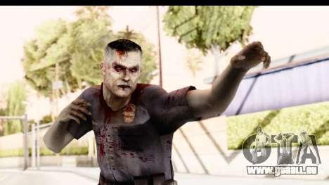 Left 4 Dead 2 - Zombie Policeman pour GTA San Andreas