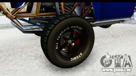 GTA 5 Trophy Truck IVF PJ pour GTA San Andreas vue arrière