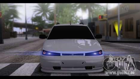 VAZ 2111 BPAN pour GTA San Andreas sur la vue arrière gauche