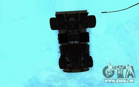 ZIL-130 Arménie pour GTA San Andreas vue de dessus