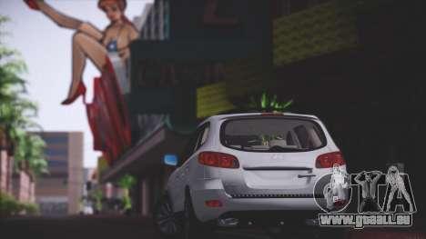 Hyundai Santa Fe Stock für GTA San Andreas Rückansicht