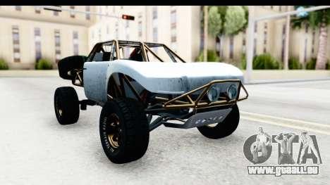GTA 5 Trophy Truck SA Lights PJ für GTA San Andreas