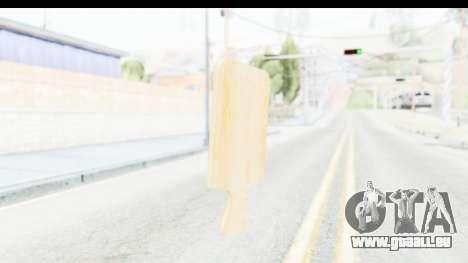 Cutting Board für GTA San Andreas zweiten Screenshot