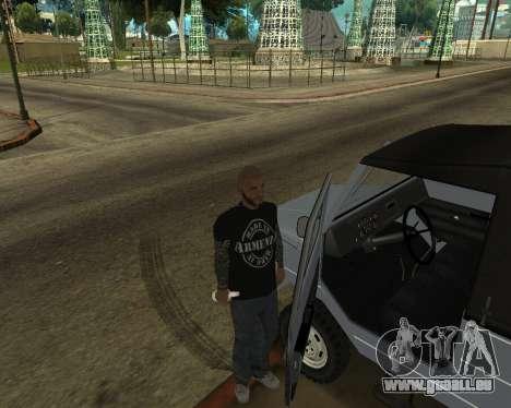 Luaz 969 Armenian pour GTA San Andreas vue de dessous