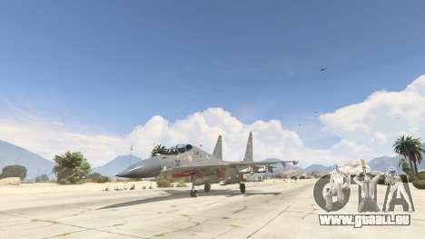 GTA 5 Su-30МКК HQ Chinesisch