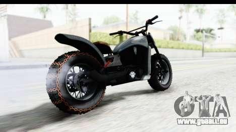 GTA 5 Western Gargoyle Custom v2 pour GTA San Andreas laissé vue