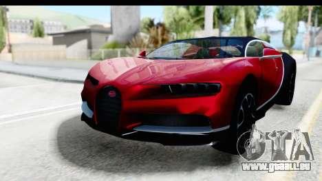 Bugatti Chiron 2017 v2 für GTA San Andreas
