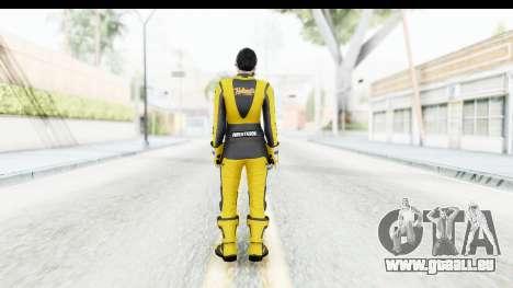 GTA 5 DLC Cunning Stuns Female Skin für GTA San Andreas dritten Screenshot