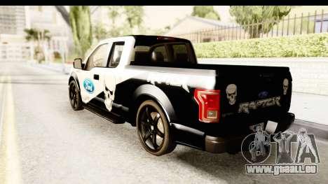 Ford F-150 Tuning für GTA San Andreas linke Ansicht