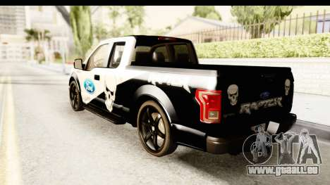 Ford F-150 Tuning pour GTA San Andreas laissé vue