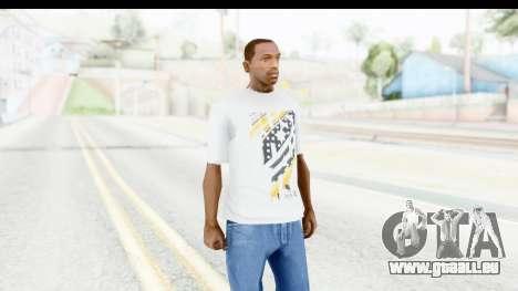 Nike Kyrie Notebook T-Shirt pour GTA San Andreas deuxième écran