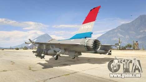 F-16XL USA für GTA 5