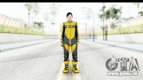 GTA 5 DLC Cunning Stuns Female Skin für GTA San Andreas zweiten Screenshot