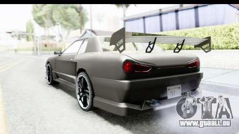 Elegy Sport Type v1 pour GTA San Andreas laissé vue