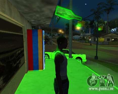 Neue automatische Heu-Cola und armenische Flagge für GTA San Andreas zweiten Screenshot