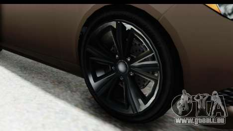 GTA 5 Ubermacht Oracle II SA Style für GTA San Andreas Rückansicht