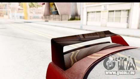 BMW M3 E36 Spermatozoid Edition pour GTA San Andreas vue de côté